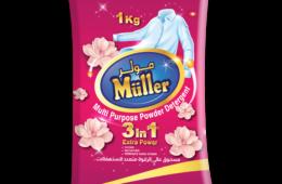 Muller High Foam Powder Detergent 1 KG