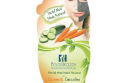 Facial Mud Mask with Carrot & Cucumber Extract